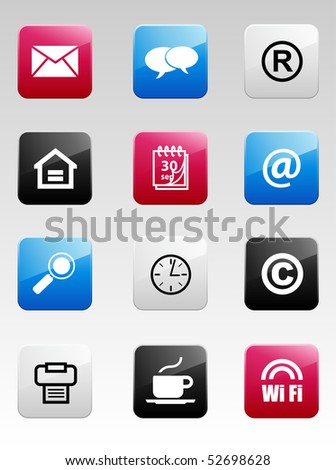 Color Internet Icons
