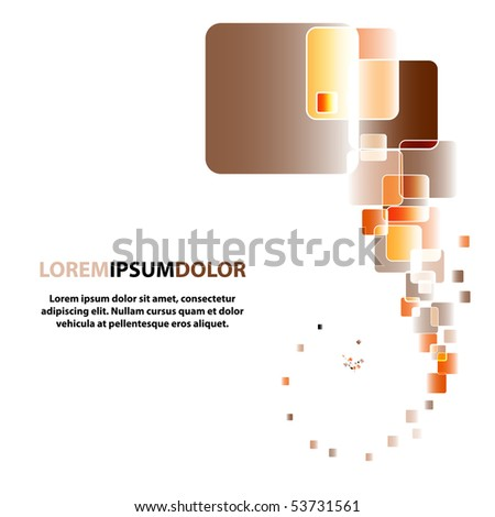 Color lights flow background. Vector Illustration. EPS10