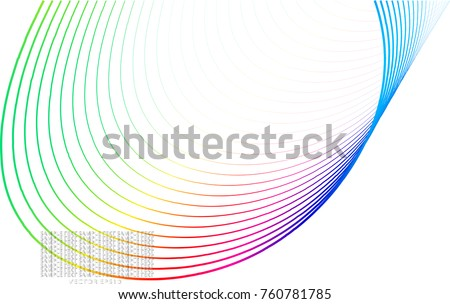 color line abstract pattern