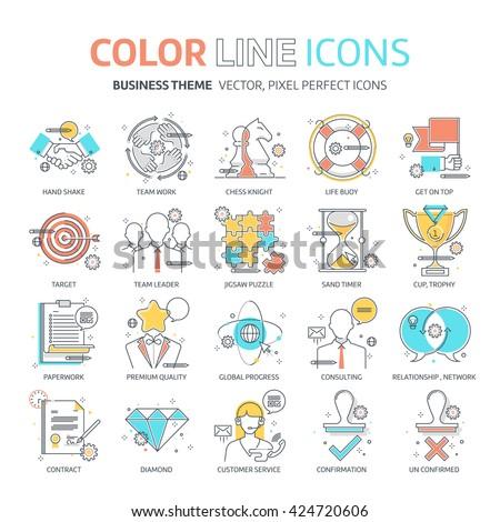 color line  business