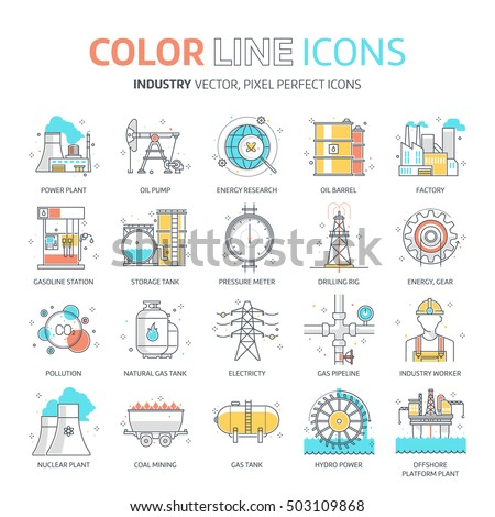 color line  energy industry