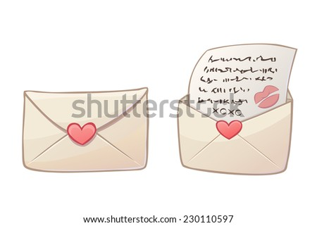 color love letters