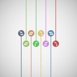 Color music symbols