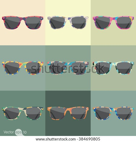color of sunglasses