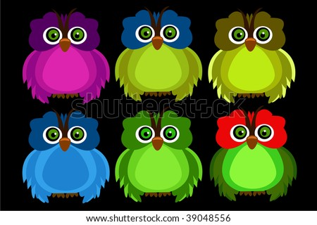 color owl #39048556