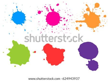 color paint splatterspaint