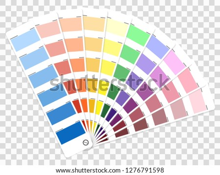 Color palette guide. Book for designer, photographer and artists