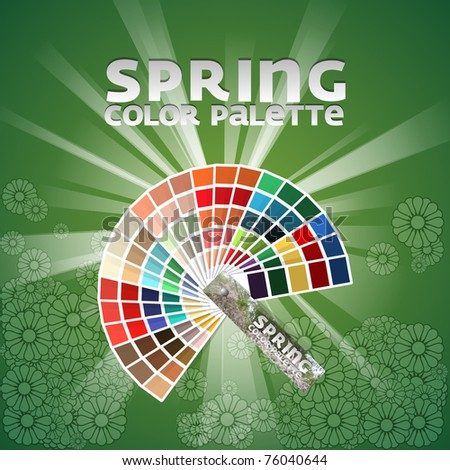 Color pallete set of four - Spring