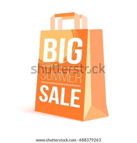 color paper shopping bag with