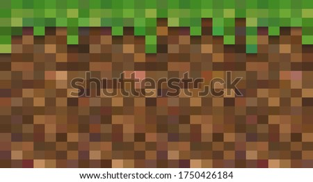 Color pixel background. The concept of modern pixel games. Web design. Vector illustration