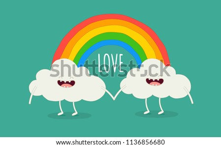 color rainbow with emotion