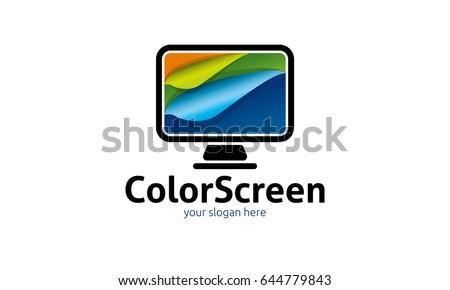 color screen logo