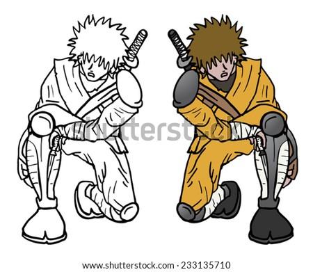 color sit ninja