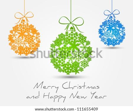 color snow balls