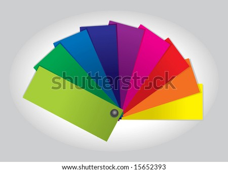 Color Swatch Book (vector). In the gallery also available XXL jpeg image made from this vector