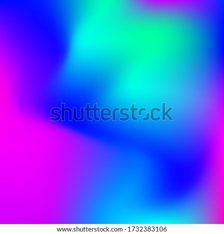 Color transition heme. Vector template, colorful bright tone colorful background for graphic display design
