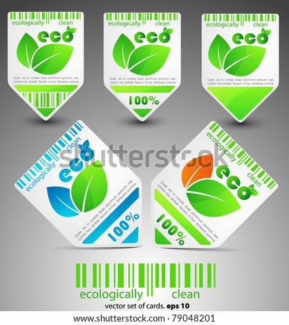 color vector eco tickets