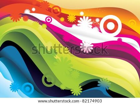 color vector gradient background