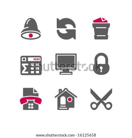 Color web icons, set 7