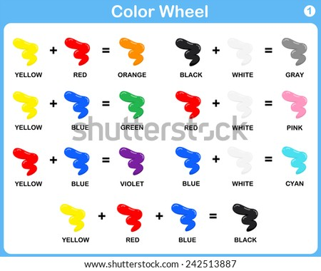 Free Color Wheel Vector