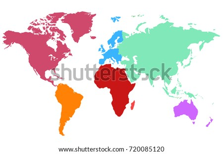 color world map #720085120
