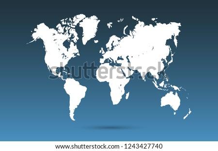 Vector Karten von Europa on