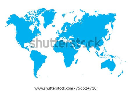 Colorful global vector map illustration download free vector art color world map vector gumiabroncs Gallery