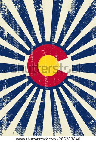colorado retro sunbeams. a...