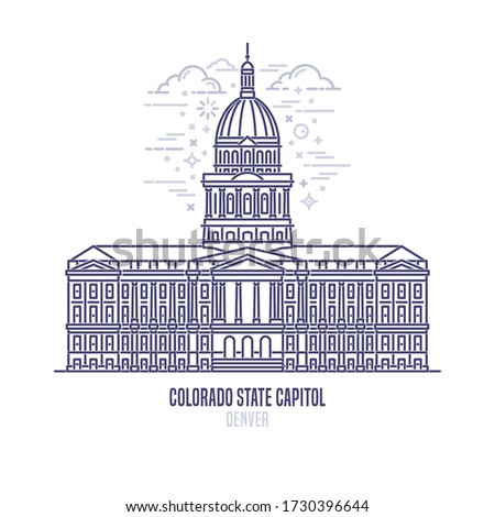 colorado state capitol located
