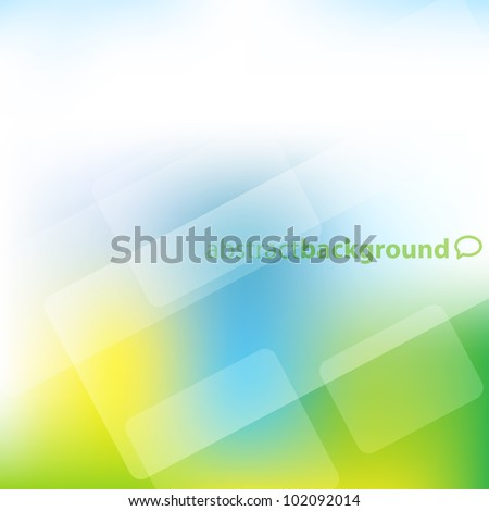 Colored abstract background with blur effect