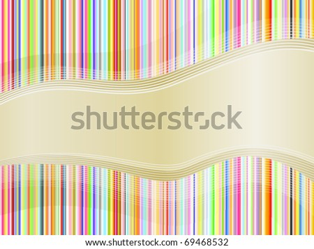 Colored background with lines for the design work (vector)