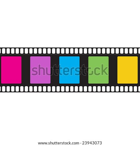 Colored Cinema Film