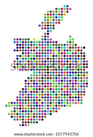 colored dot ireland republic