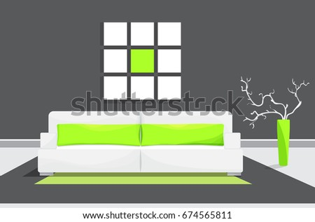 colored flat vector design with