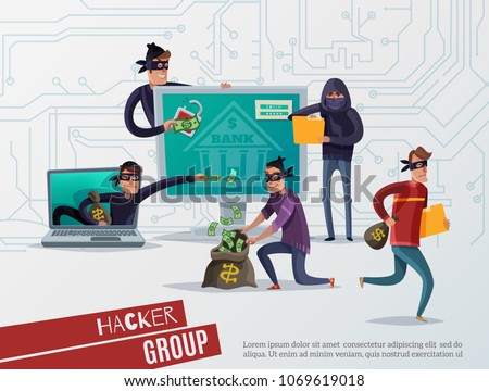 colored internet hacker
