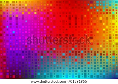 colored rainbow background made