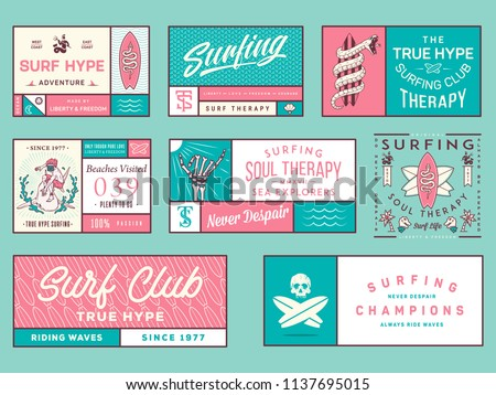 colored surf badges vol 2  is