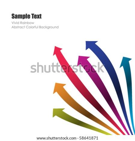 Colored vector arrows
