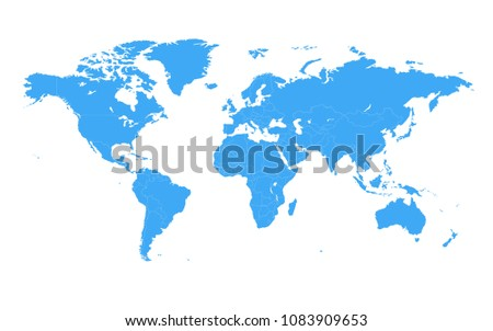 Worldmap conjunto de vectores descargue grficos y vectores gratis colored vector world map illustration isolated over white background flat globe earth template gumiabroncs Image collections