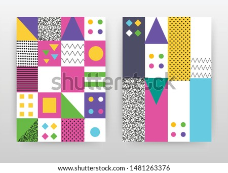 colorful abstrack design for