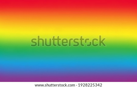 Colorful abstract background in bright rainbow colors. Colored symbol of LGBTQ. Vector illustration.   Foto stock ©