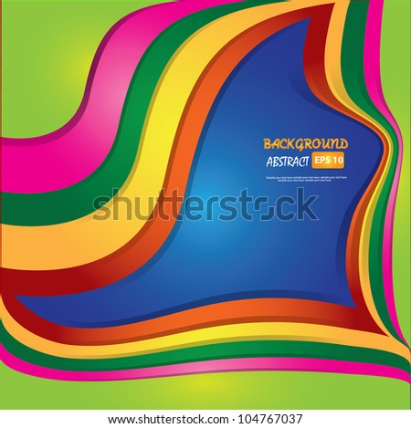Colorful abstract background,Vector