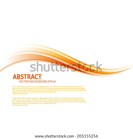 Colorful abstract background waves