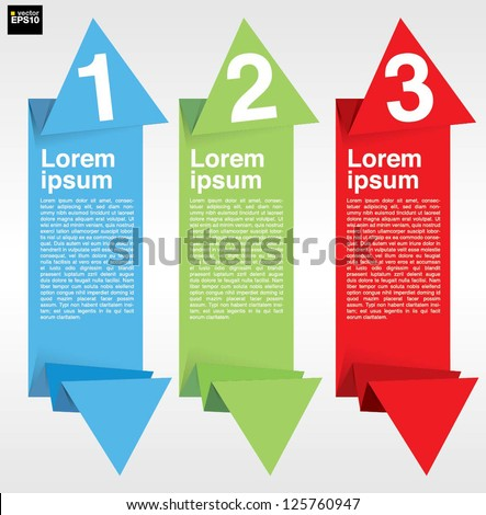 Colorful abstract banner vector.EPS 10