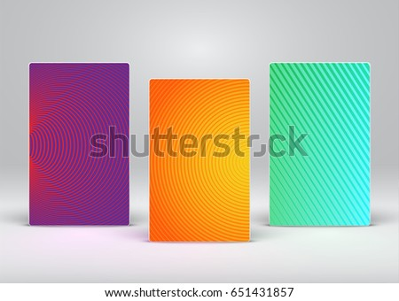 colorful abstract flyer poster...
