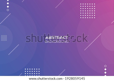colorful abstract geometric trendy gradient background.
