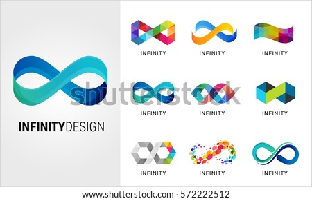 colorful abstract infinity