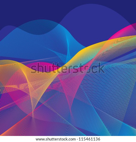 colorful abstract urban background