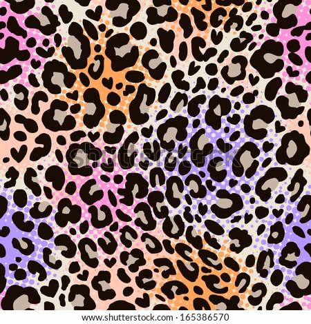 colorful animal print ~ seamless background