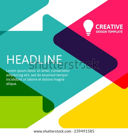 stock-vector-colorful-arrows-background-template-with-place-for-text-vector-illustration-concept-for-website